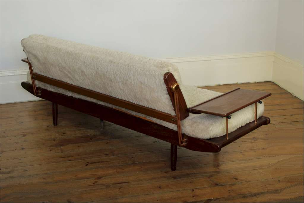 Danish style mid century sofa bed produced in the early for Furniture 60s style