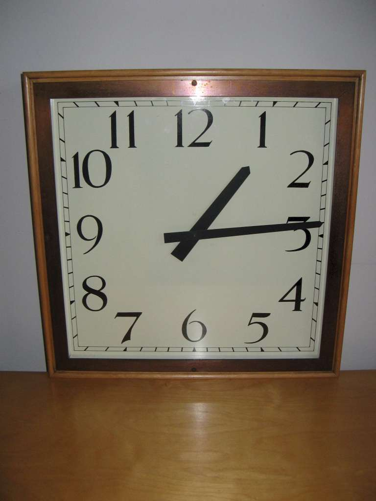 Large Art Deco Wall Clock Clocks Art Furniture