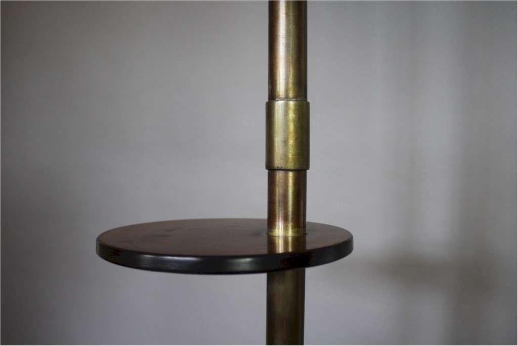 Modernist Floor Lamp Brass And Bakelite Art Deco Art Furniture