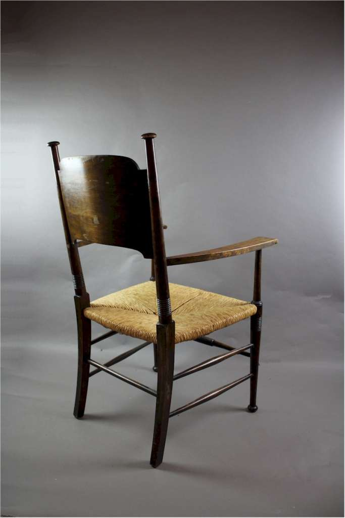 An Arts And Crafts Carver Chair By William Birch Arts