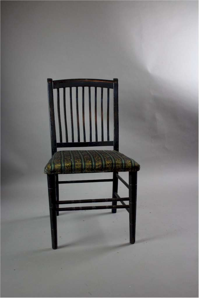 Aesthetic Movement Child 39 S Ebonised Chair Arts And
