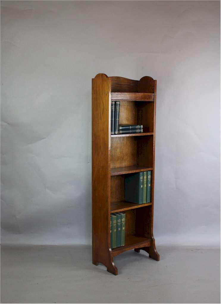 Heals Oak Open Bookcase From The 1920's