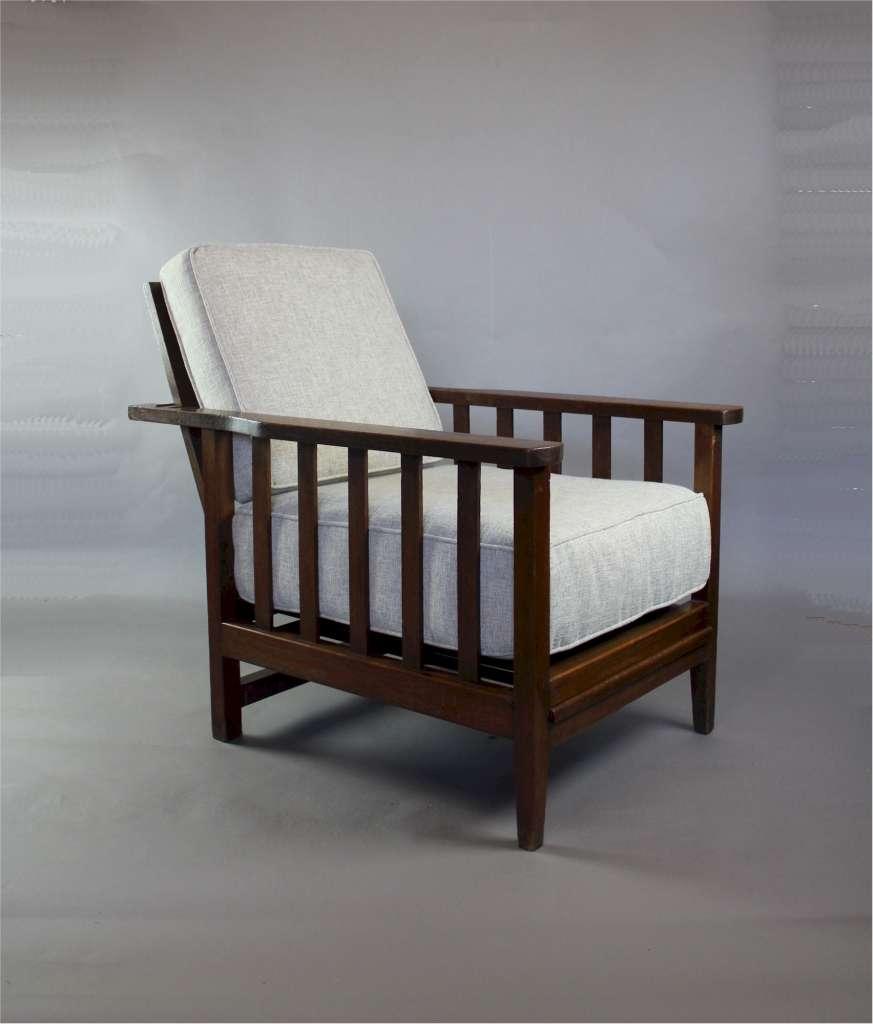 oak arts and crafts armchair c1900 arts and crafts. Black Bedroom Furniture Sets. Home Design Ideas