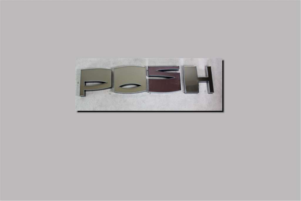 Vintage 1970 39 s shop front letters shop or posh for Furniture 7 letters