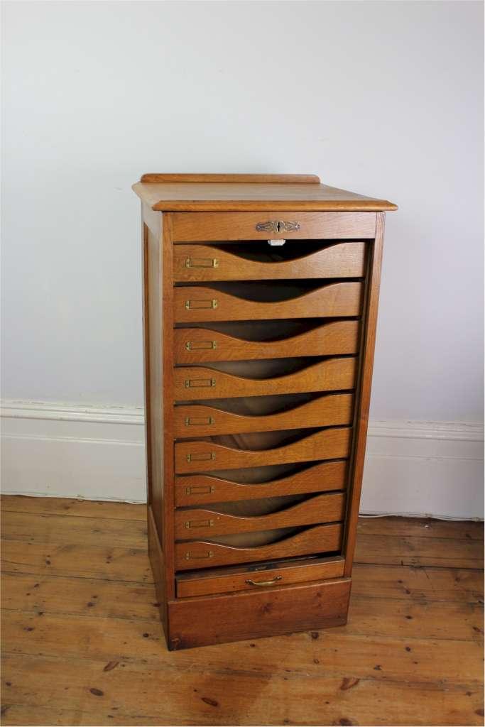 Image Result For Oak Filing Cabinet Drawer Antique