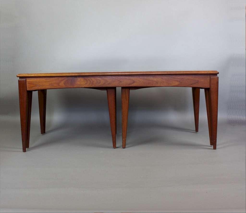 Mid-Century Teak Nesting Coffee Tables