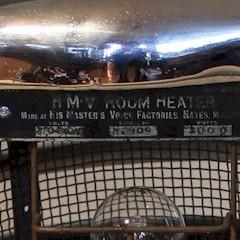 Modernist 1930's Chrome Deco Heater