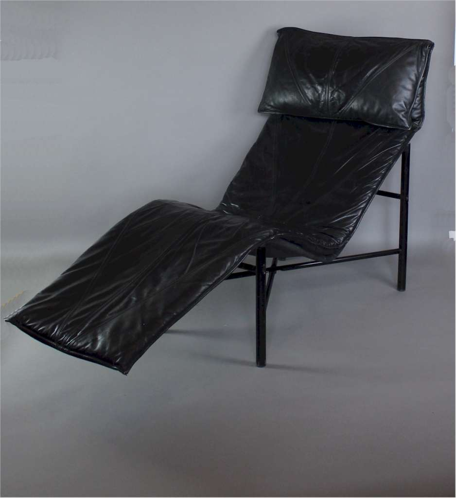 Tord bjorklund designed chaise longue circa 1970 mid for Art deco chaise longue